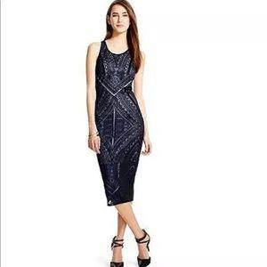 Mossimo Burnout Bodycon Midi Dress